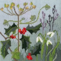 Rose Swalwell in Cumbria Winter  Long  Stitch Seasons Kit