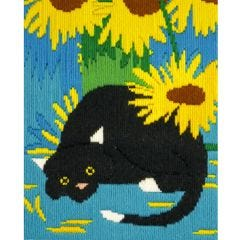 Long Stitch Cats -  Socks Picture Kit