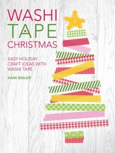 Washi Tape Christmas Book