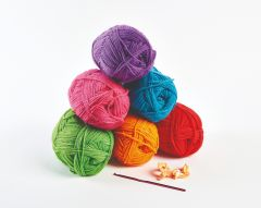 600g Bold and Bright Yarn Kit
