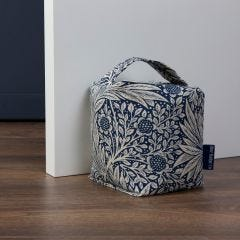 William Morris Marigold Indigo Door Stop