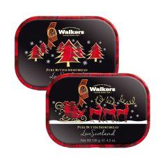 Walkers Mini Christmas Tin Pack