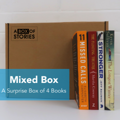 Mixed Box of 4 Surprise Fiction and Non-Fiction Books