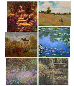 Claude Monet Print Collection