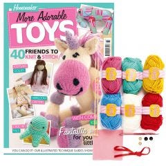 Homemaker Adorable Toys Bookazine