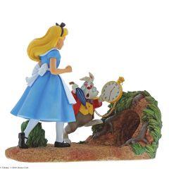 Mr Rabbit, Wait! Alice In Wonderland Figurine