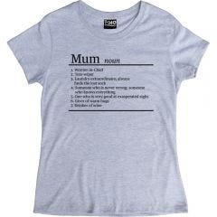 Mum Definition Ladies T-shirt