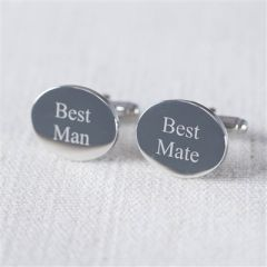 Best man best mate cufflinks