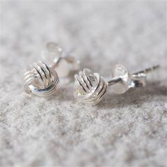 Tying the knot earrings