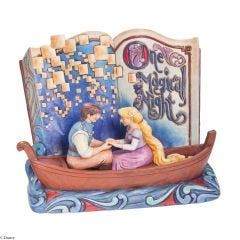 One Magical Night Storybook Tangled Figurine
