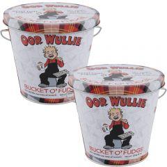 Oor Wullie Bucket O'Fudge Pack