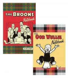 The Broons & Oor Wullie Notebook Pack
