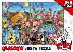 Whaur's Oor Wullie in Glasgow Jigsaw Puzzle