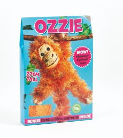 Ozzie the Orangutan Yarn Kit