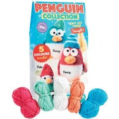 Penguin Family Yarn Kit