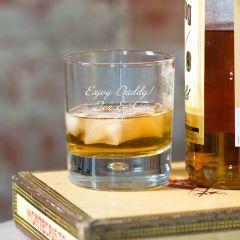 Personalised Script Whisky Tumbler