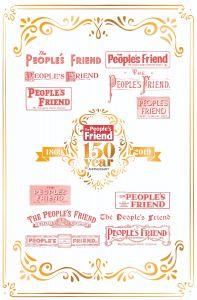 The People's Friend 150th Anniversary Tea Towel