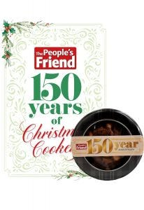 The People's Friend 150 Years of Christmas Cookery & Dundee Cake Pack