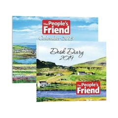 The People's Friend Diary & Calendar 2019