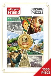 The People's Friend 150th Anniversary Jigsaw Puzzle & Free 150th Anniversary Special
