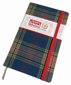 The People's Friend Tartan Notebook & Free Diary