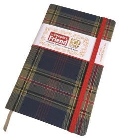 The People's Friend Tartan Notebook