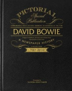 David Bowie Pictorial Newspaper Book