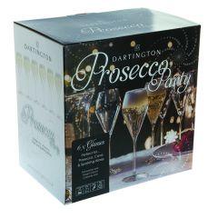 Dartington Prosecco Party Glasses 6 Pack