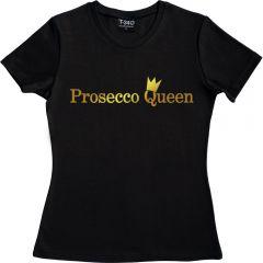 Prosecco Queen Ladies T-shirt