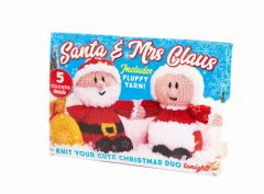 Santa and Mrs Claus Knit Kit