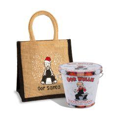 Oor Wullie Santa Bag & Bucket O'Fudge