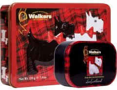 Walkers Scottie Shortbread Tin Duo