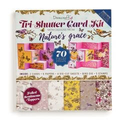 Dovecraft Tri Shutter Card Kit