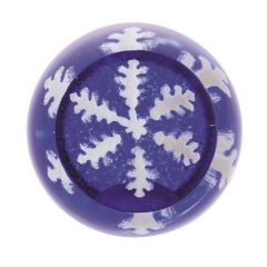 Snowflake Blue Paperweight