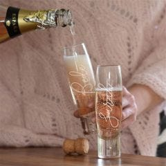 Stemless Champagne Glass Set