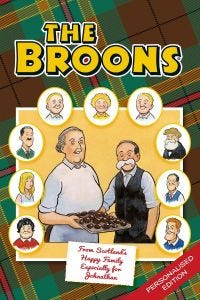 The Broons Personalised 2020 Annual