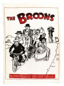 The Broons Tandem Tea Towel x 2