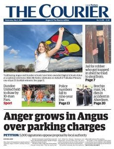 The Courier Subscription - Dundee Edition