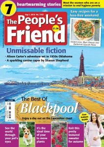 The People's Friend Magazine Subscription-20 Issues UK