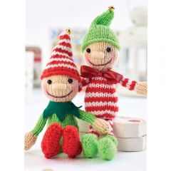 Jingle and Tinsel Elves Knitting Kit