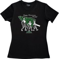 The Broons Christmas Ladies Tree T-shirt