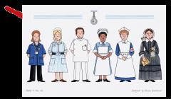 Celebrating Nursing Tea Towel
