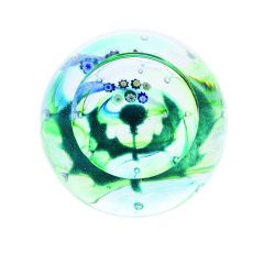 Caithness Milli Thistle Paperweight