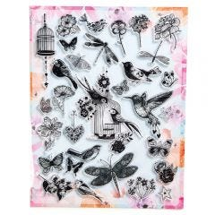 Bird Cage Stamps
