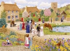 Village Wedding Jigsaw
