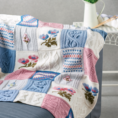 Debbie Bliss Primavera Blanket Pattern