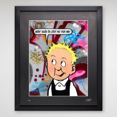 Limited Edition Oor Wullie Wonders Print
