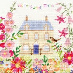 Counted Cross Stitch: Home Sweet Home