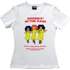 The Broons Drookit Ladies T-shirt