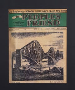 The People's Friend Cover Print - The Forth Bridge